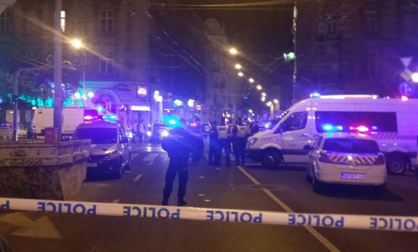 Полицейский получил ранение при мощном взрыве в центре Будапешта