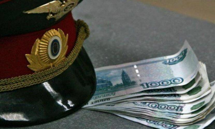 Глава антикоррупционного отдела милиции попался навзятке в2,5 млн. руб.