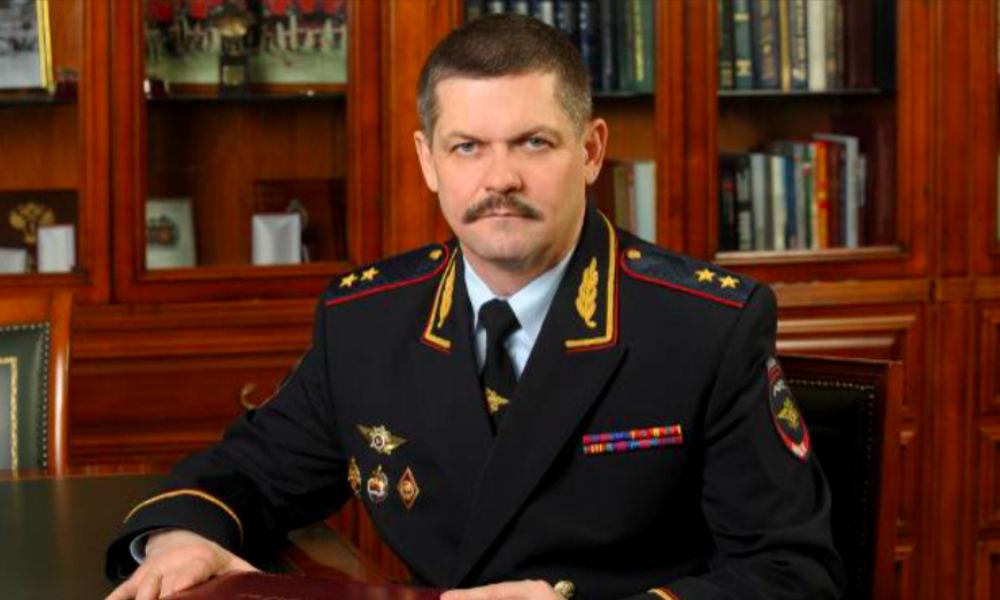 Генерал-лейтенант полиции Анатолий Якунин попрощался с личным составом ГУ МВД по Москве