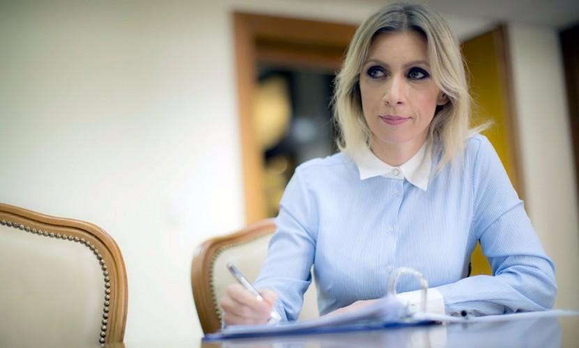 Захарова ответила наобвинения вварварстве вадрес Российской Федерации
