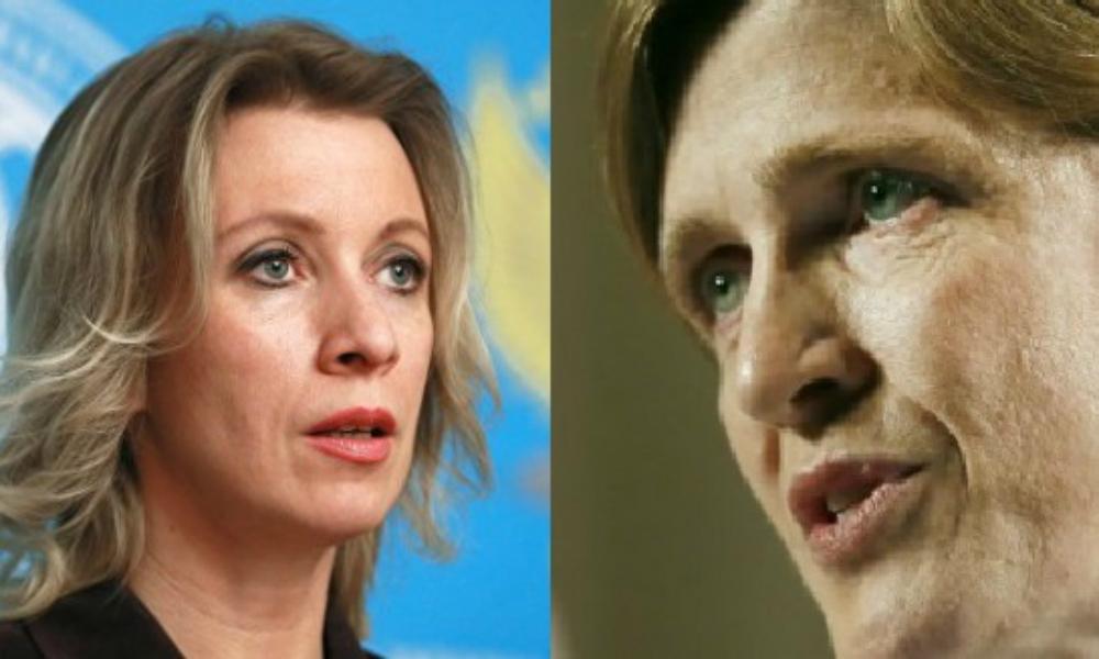 Захарова ответила на громкое заявление Пауэр о «подарке» террористам