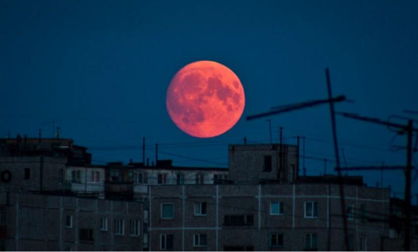Вночь на16сентября амурчане увидят лунное затмение