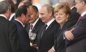 Германия сообщила об участии Путина в переговорах «нормандской четверки»