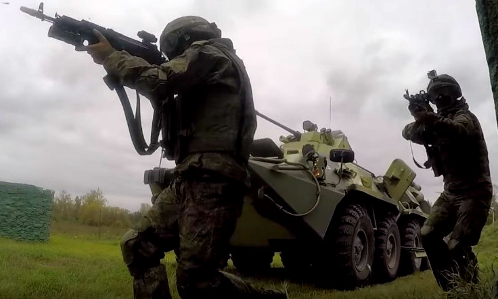 В Сети появился зрелищный видеоролик ко Дню Сухопутных войск РФ