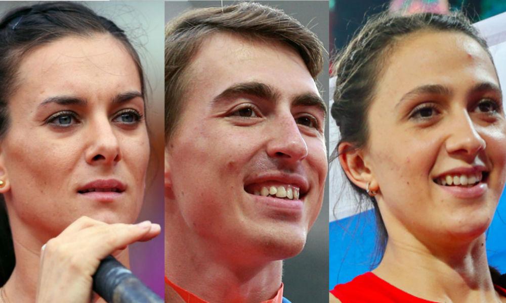 Исинбаева, Шубенков и Кучина получат по 4 миллиона рублей за пропущенную Олимпиаду
