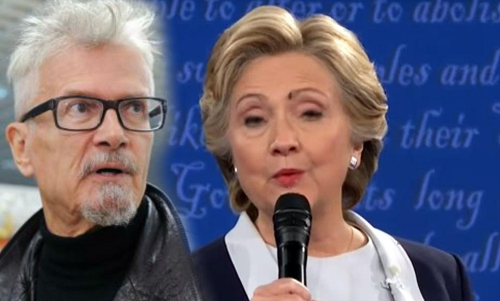 Эдуард Лимонов увидел символ смерти в мухе на лице Хиллари Клинтон