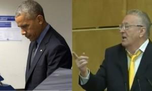 Жириновский заподозрил у досрочно проголосовавшего Обамы психическое заболевание