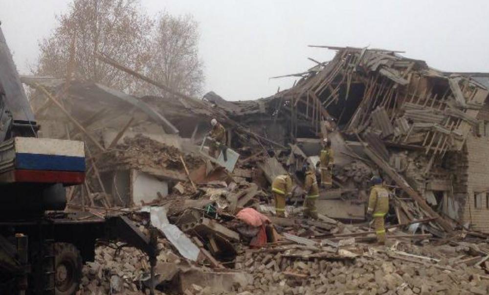 Жильцы дома оказались заблокированы под завалами в результате взрыва в Ивановской области