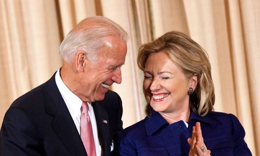Вслучае избрания Клинтон может предложить Байдену пост госсекретаря