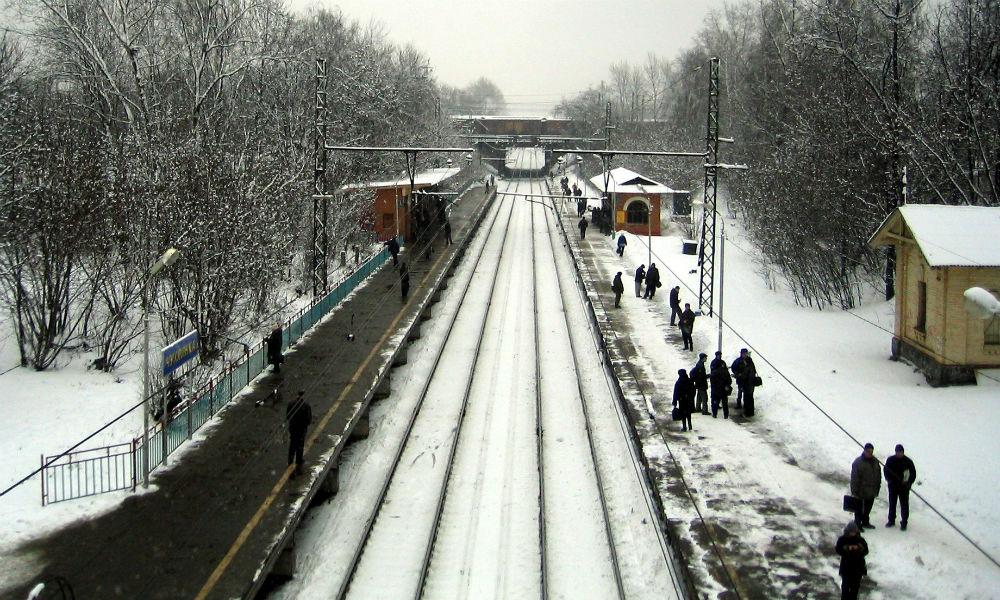 Заминированный поезд обнаружили на станции Москвы
