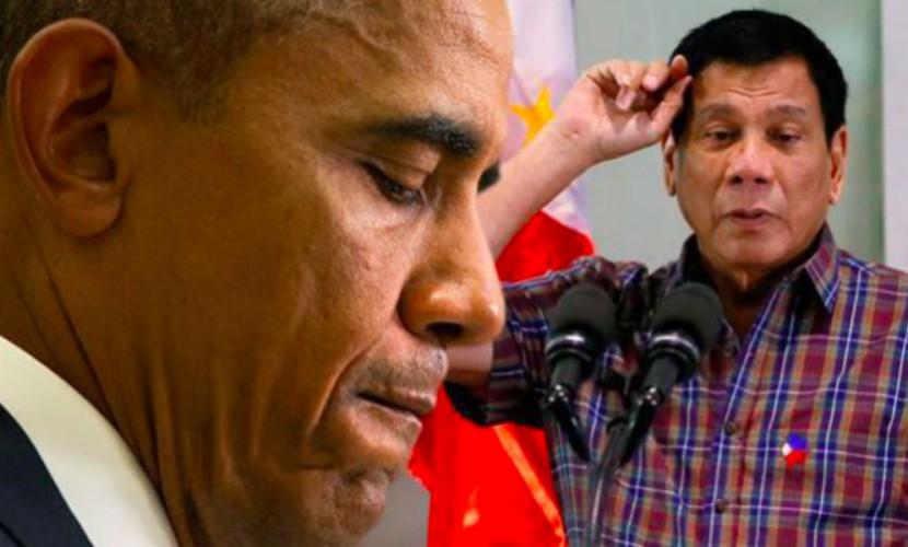 """""""Я пойду в Россию"""": cкандальный президент Филиппин во второй раз оскорбил Обаму"""