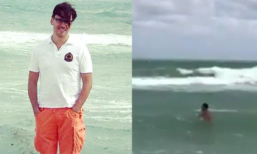«Суровый русский» Максим Галкин на камеру бросился в бушующий Атлантический океан