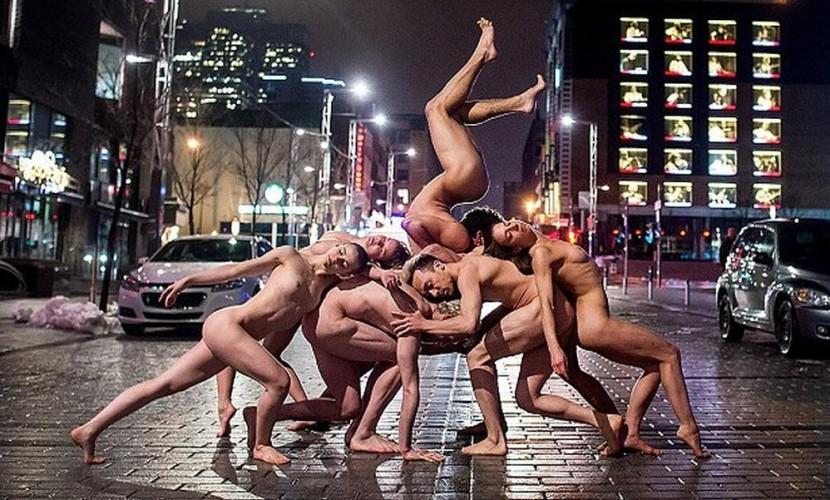 Артисты балета обнажились на дорогах городов для масштабного фотопроекта