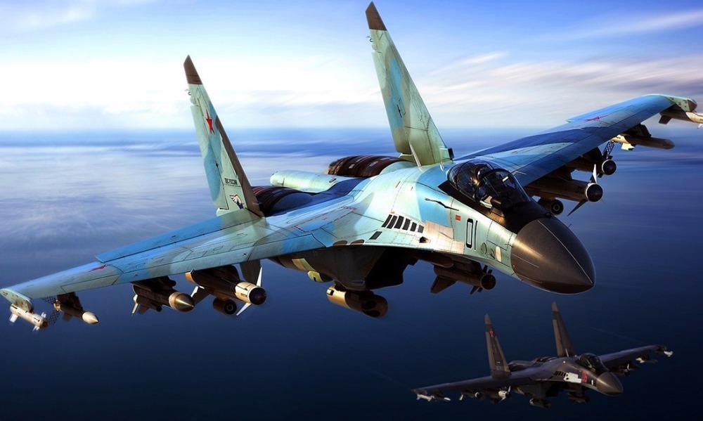 Американский самолет чуть не попал в завихрения реактивной струи российского истребителя, - ВВС США