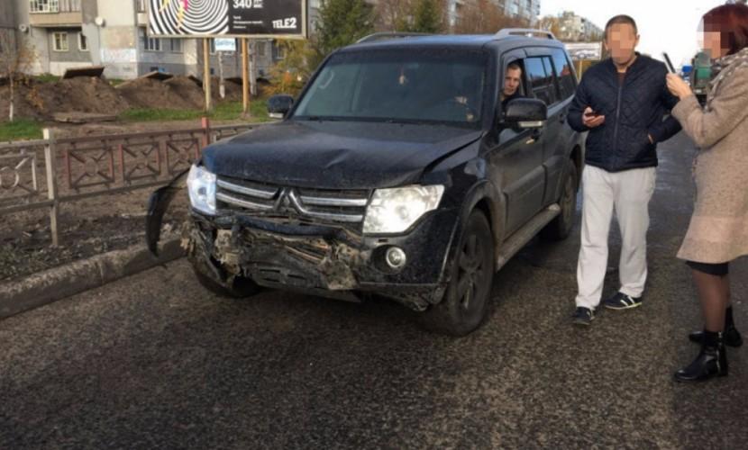 Опубликовано видео с места наезда на детей нетрезвого водителя Mitsubishi в Архангельске