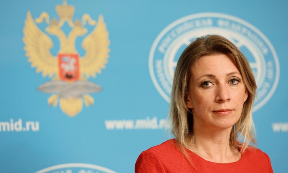 Захарова попросила политологов, лингвистов и сексологов задуматься над словами Лаврова в интервью CNN