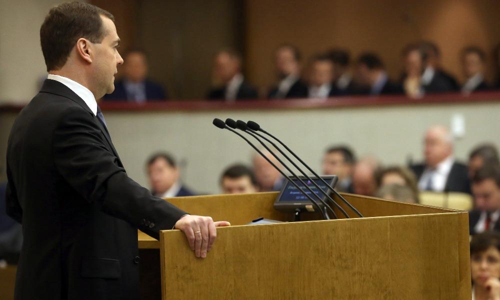 Медведев внес в Государственную думу измененный проект бюджета на 2017-2019 годы