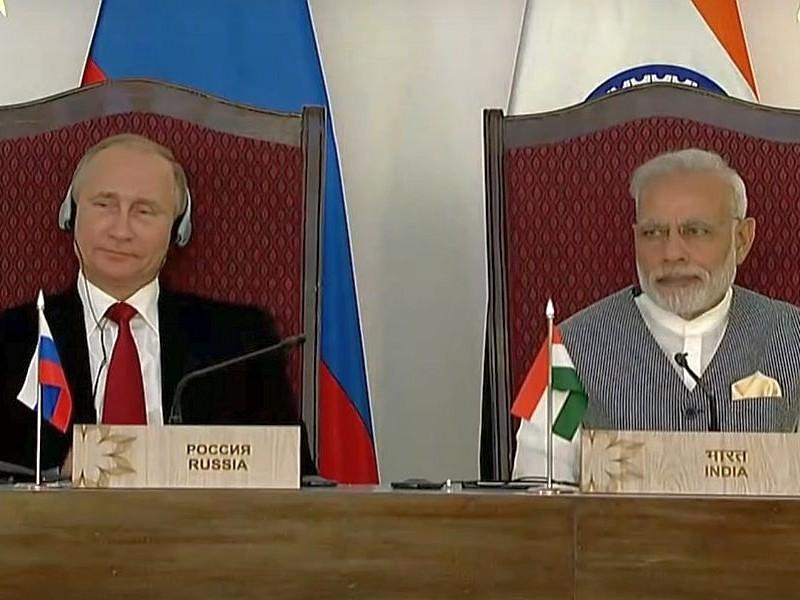 Россия подписала с Индией контракт о поставке зенитных ракетных комплексов С-400