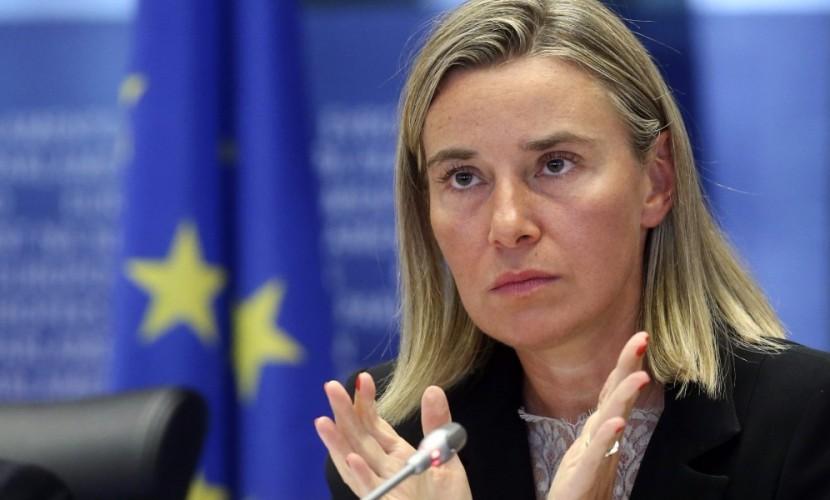 Могерини опровергла сообщения о предложении наказать Россию санкциями за события в Сирии