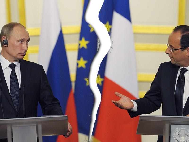 Путин отказался встречаться 19 октября с Олландом в Париже, - Reuters