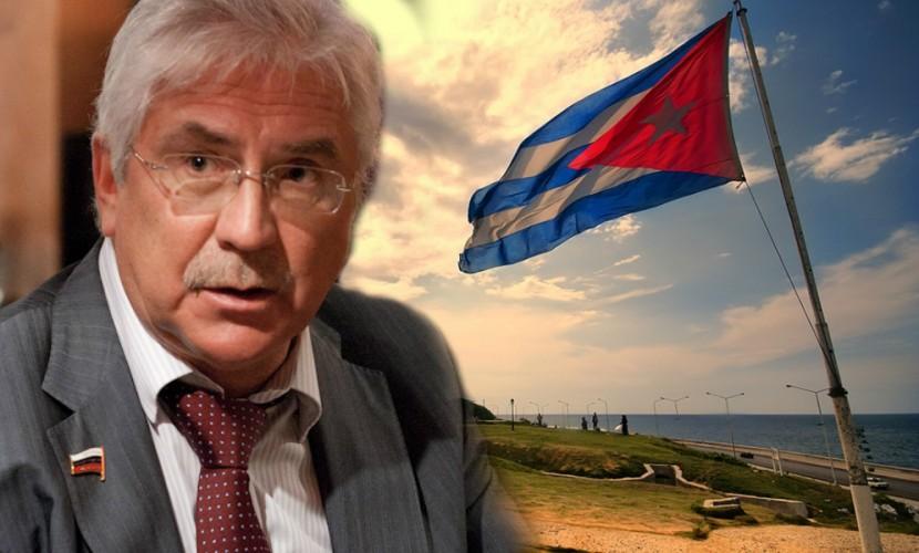 В государственной думе хотят принять новое объявление онедопустимости блокады Кубы
