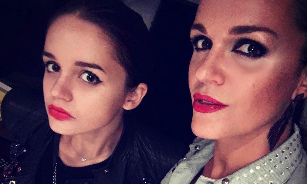 Певица Слава разрешила несовершеннолетней дочери поселиться с любовником возле школы