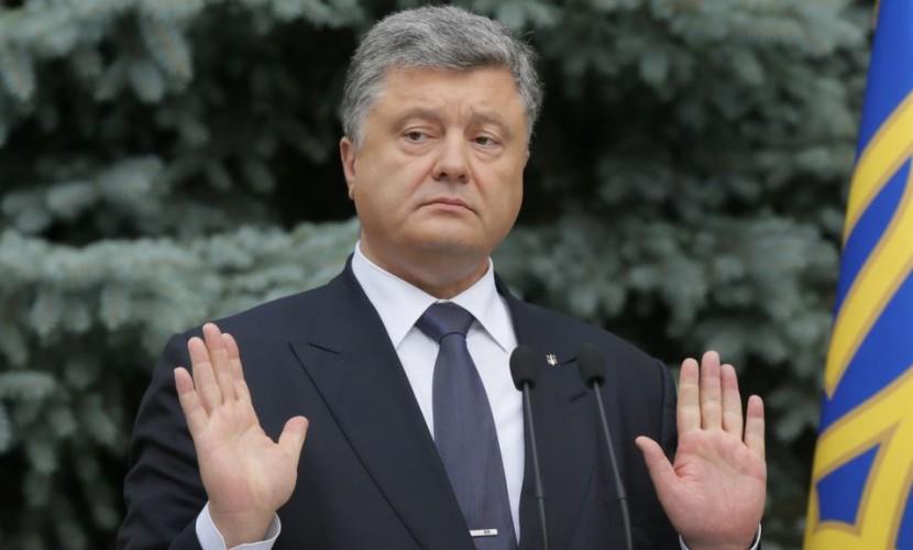 Порошенко использовал рекламу русской БМП впоздравлении украинских военных