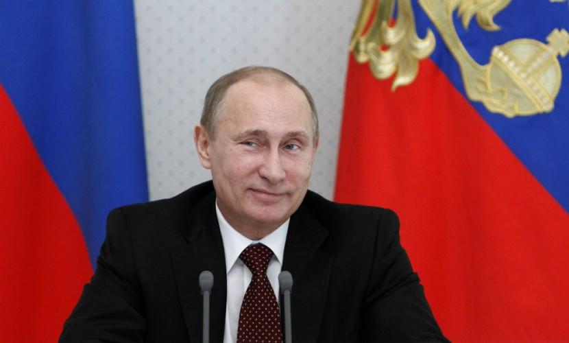 Владимира Путина поздравили сднем рождения граждане Рашки