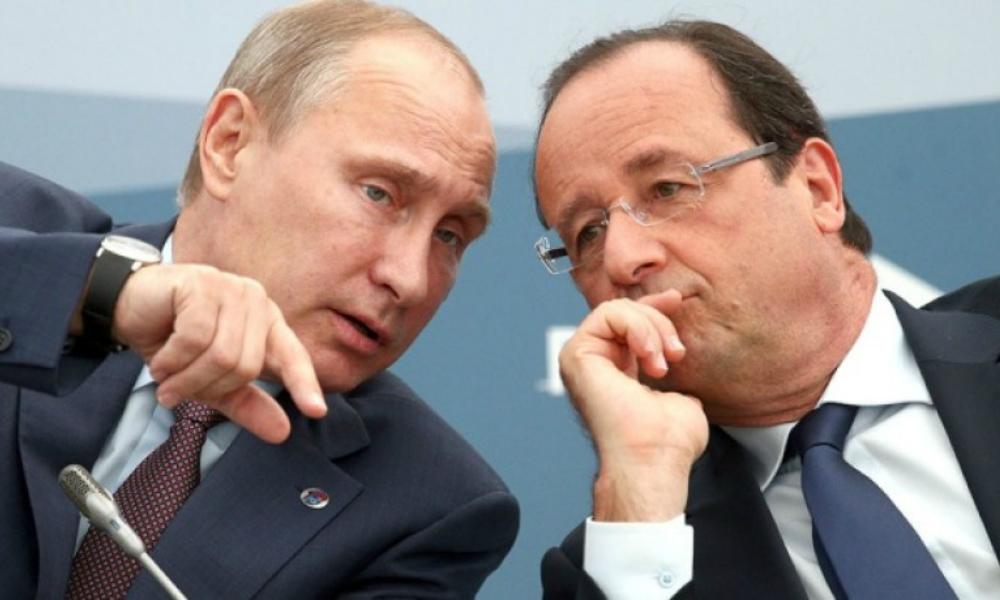 Кремль прокомментировал слухи об отказе Олланда встретиться с Путиным