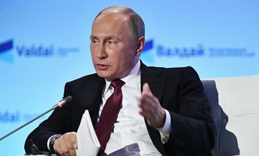 Российскую Федерацию и государство Украину распределили, апотом стравили— Путин