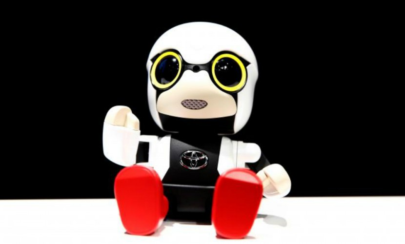 Компания Тойота впервый раз создала робота