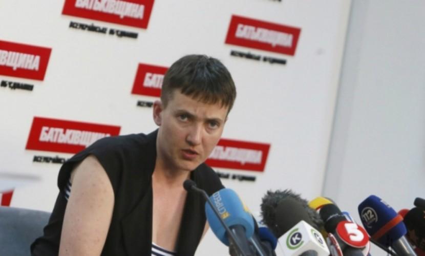 Савченко выступила завведение визового режима между Украинским государством иРоссией