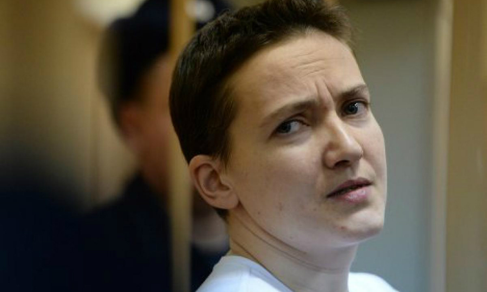 Надежда Савченко приехала в Москву поддержать воевавших в Чечне украинских националистов
