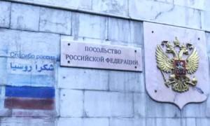 Снаряд террористов взорвался возле входа в посольство России в Дамаске