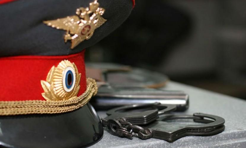 Арестован начальник угрозыска ОМВД