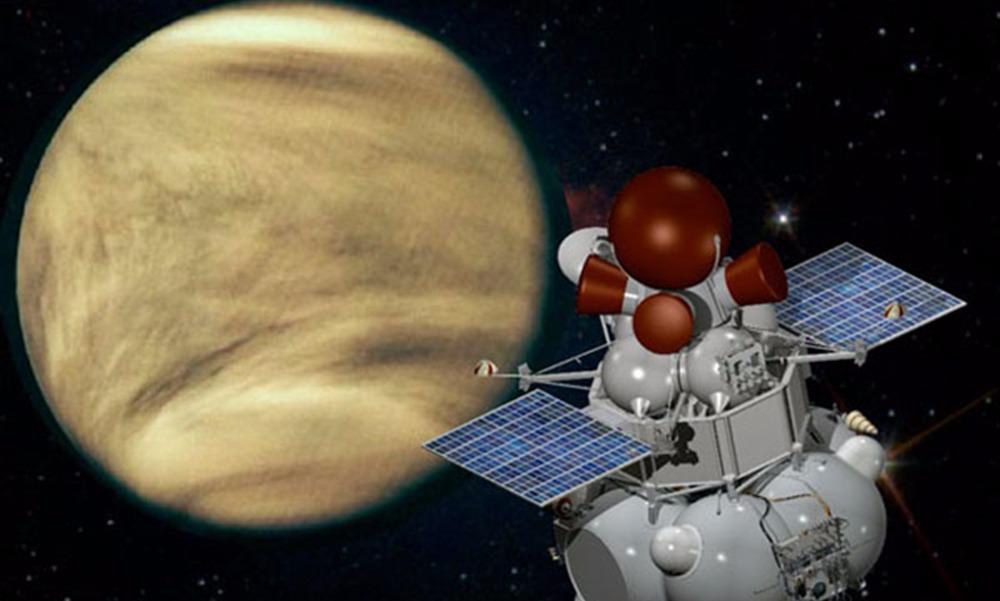 Российские ученые заявили о намерении посадить через десять лет станцию на Венере