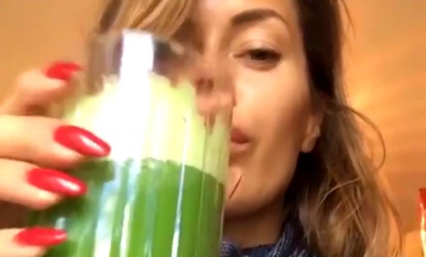 Красотка Монако Виктория Боня ошеломила поклонников видео перехода на сыроедение