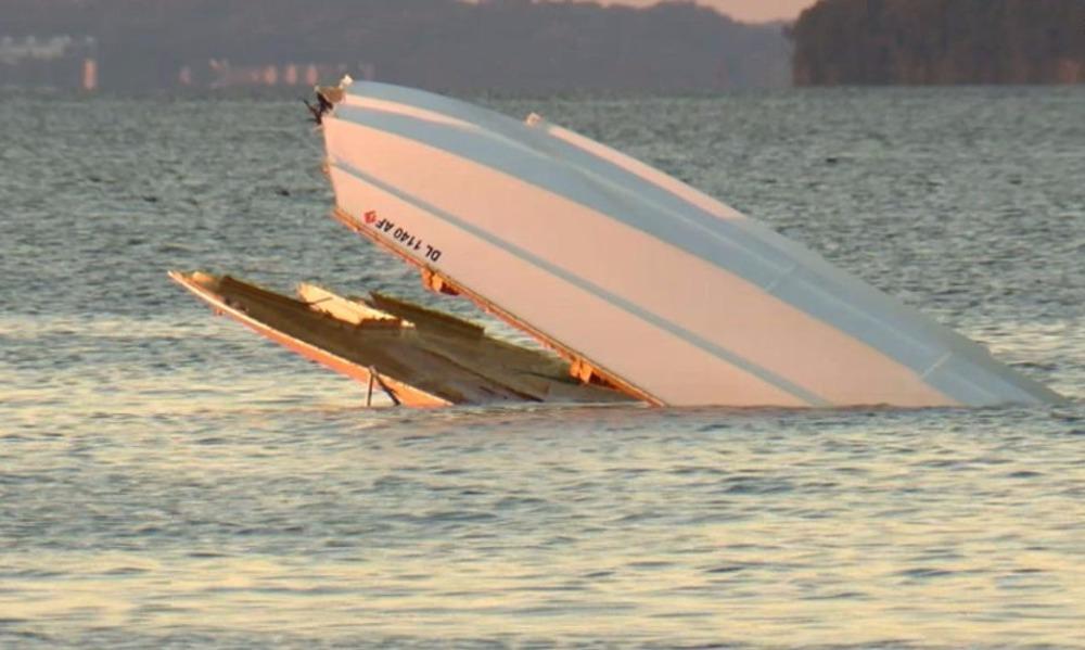Лишивший жизни двух мужчин роковой взлет катера на бешеной скорости в США попал на видео