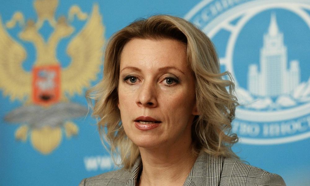 Мария Захарова назвала фейком историю о разбомбленной школе и пристыдила главу МИД Франции