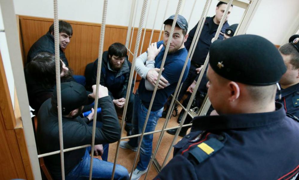 Подозреваемые по делу Бориса Немцова сделали заявление после оглашения приговора