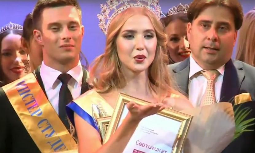 Гимнастка из Татарстана победила в конкурсе «Мисс студенчество России-2016» в Ставрополе