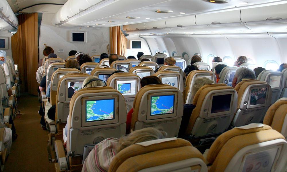 Дебошир на борту самолета