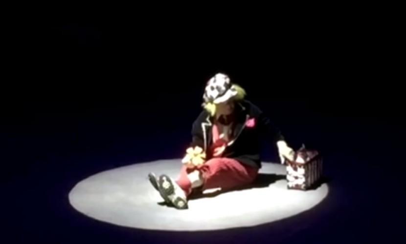Трогательным видео последнего выступления клоуна Олега Попова поделились ростовские зрители