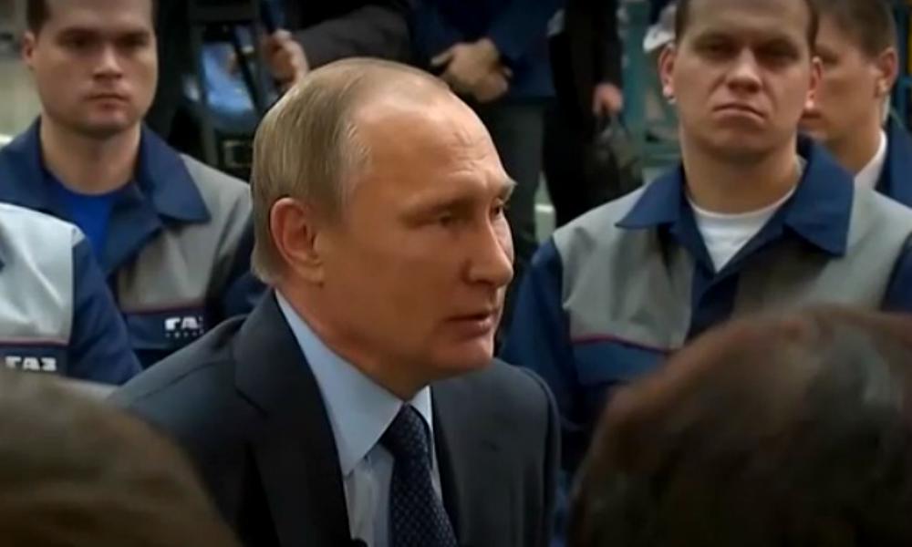 Путин: наша армия никому не угрожает, мы и так самые большие в мире
