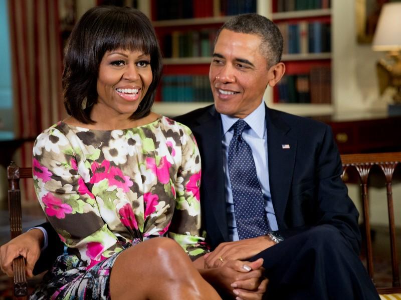 Барак Обама рассказал о перспективах своей жены стать президентом США