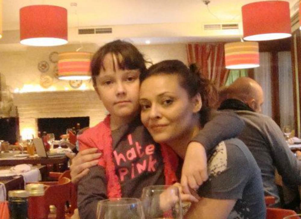 анна рождественская с дочкой аней