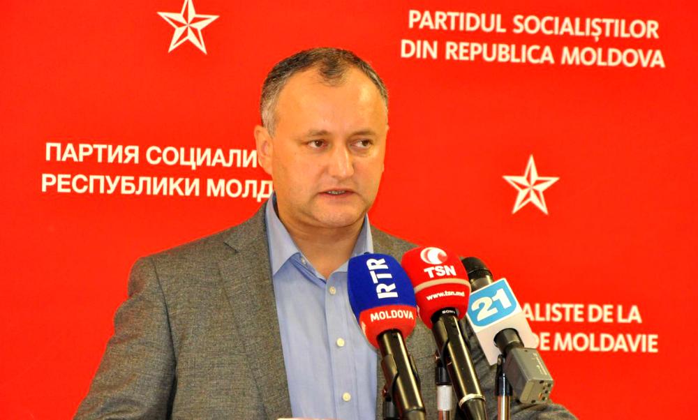 Пророссийский кандидат признан фаворитом второго тура президентских выборов в Молдавии