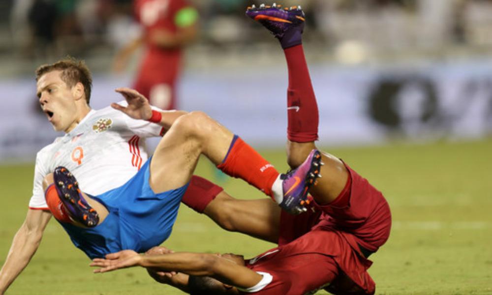 Сборная России по футболу досадно уступила Катару в товарищеском матче