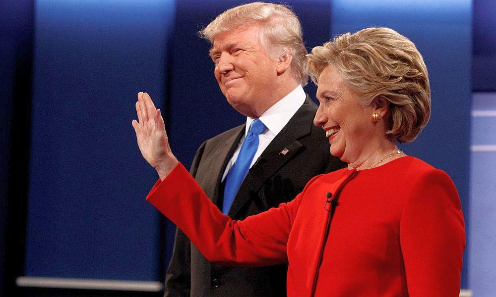 За сутки до часа икс: Клинтон опередила Трампа в опросах на четыре процента