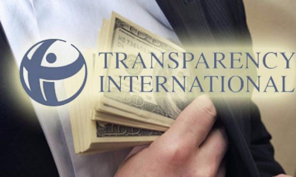 Организация Transparency International включила Россию в список наиболее коррумпированных стран